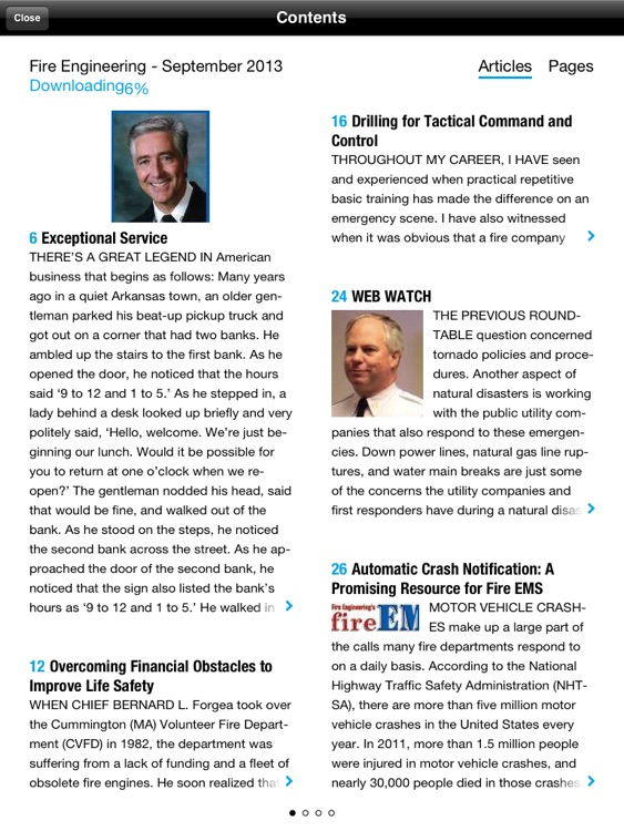 Fire Engineering Magazine for iPad