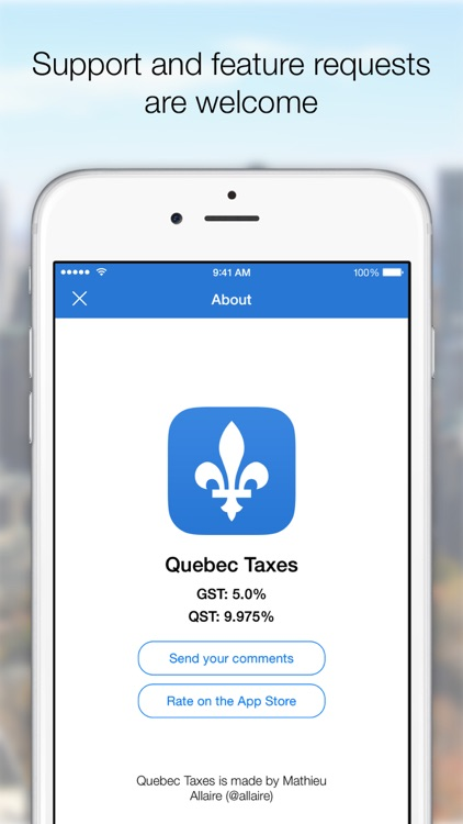 Quebec Taxes (+ tip) screenshot-4