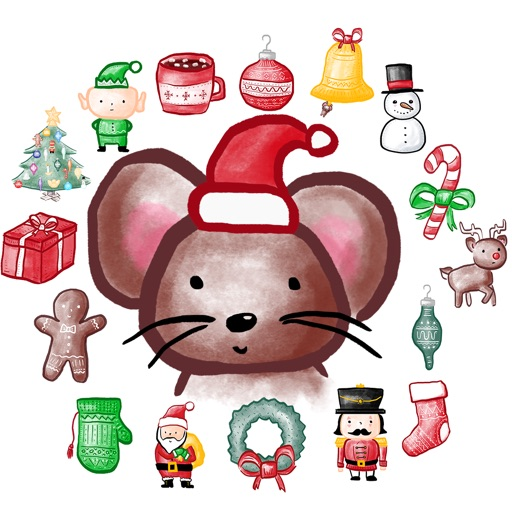 Christmasville Stickers