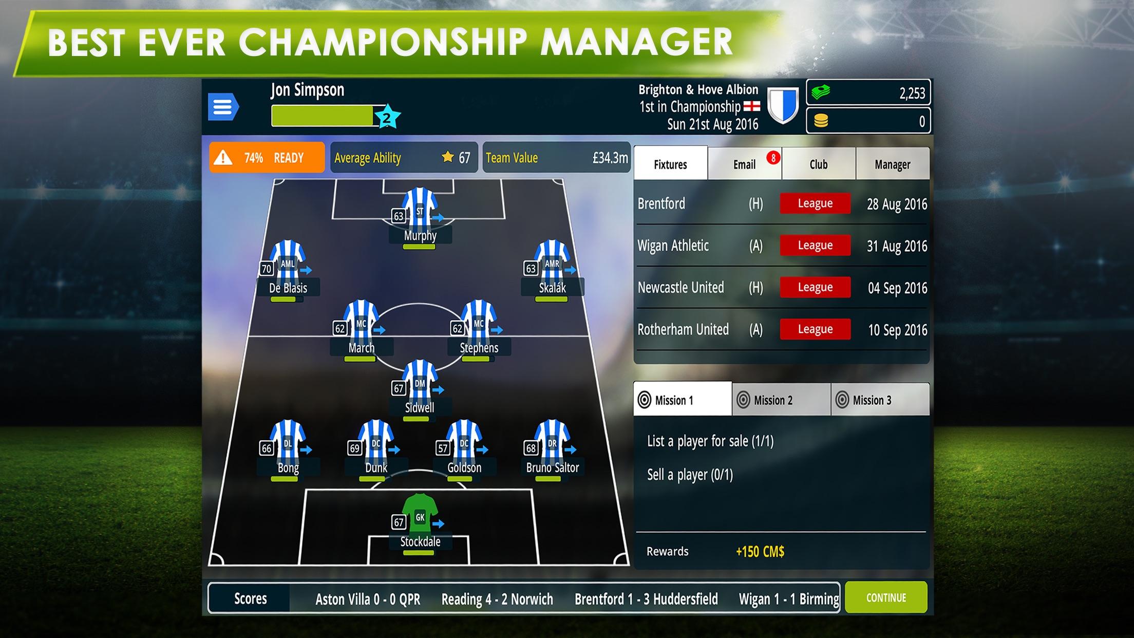 Championship Manager 17 Screenshot
