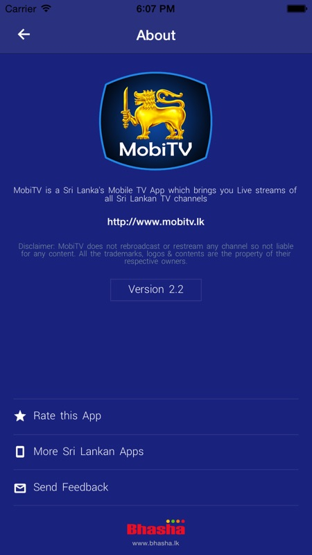MobiTV - Sri Lanka TV Player - Online Game Hack and Cheat