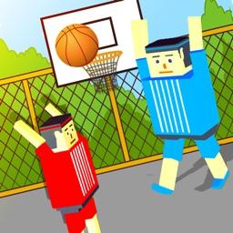 BasketBall Bouncy Physics 3D Cubic Block Party War