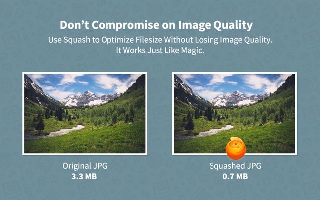 Squash — Web Image Compression Screenshot
