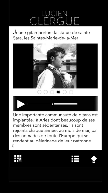 Lucien Clergue, l'Application officielle de l'exposition screenshot-3