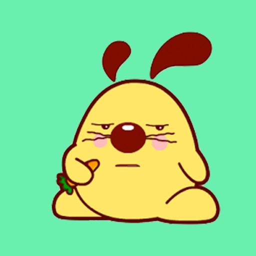 Funny Dog Animated Gif Sticker
