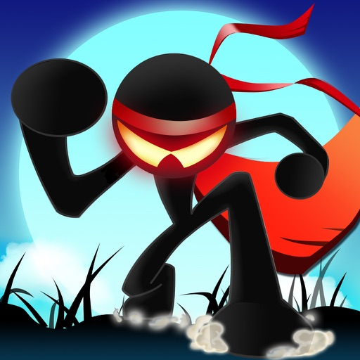 Ninja Stick Man Fighter iOS App