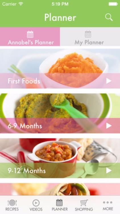 Annabel Karmel's Baby & Toddler Recipe App screenshot-4