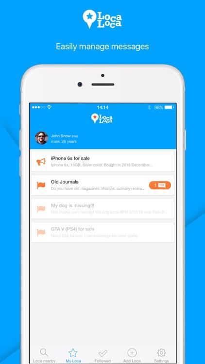 Loca Loca – Local Messenger screenshot-3