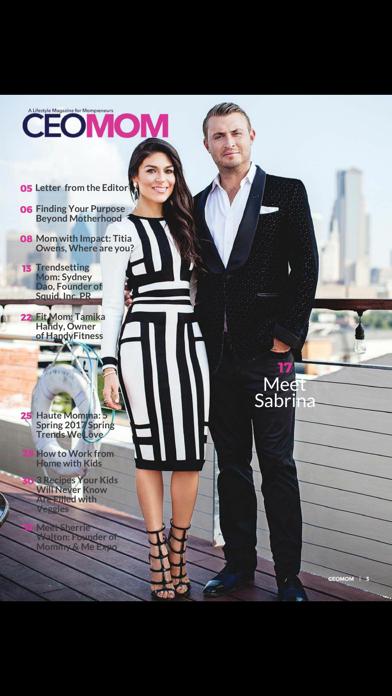 CEOMOM Magazine screenshot 5