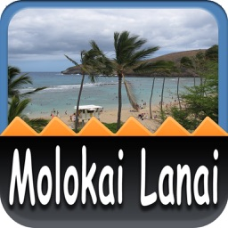 Malokai & Lanai Island Offline Map Travel Guide
