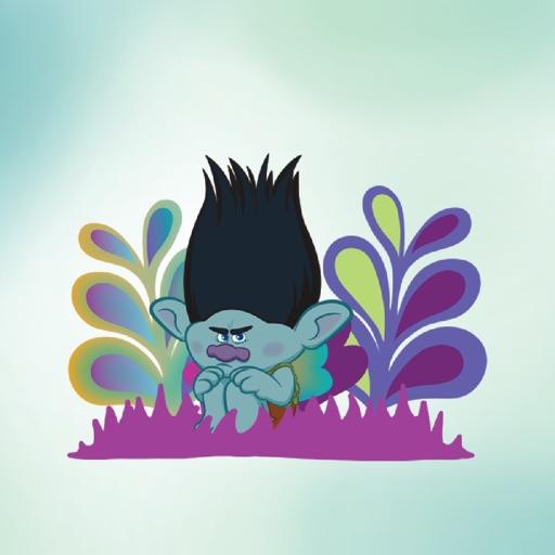 DreamWorks Trolls 2D Stickers
