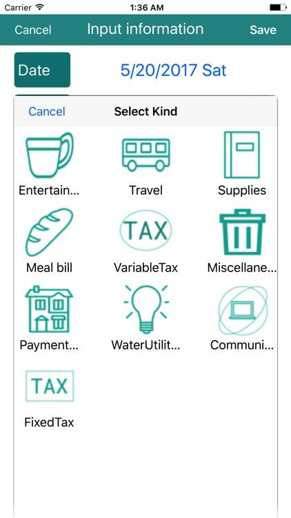 CashLogger - Simple account Book - screenshot-3