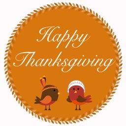 Thanksgiving Sticker Pack 1
