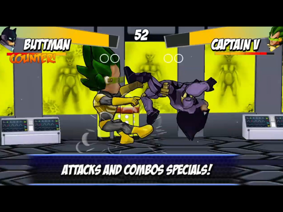 Superhero free fighting games avengers battle screenshot