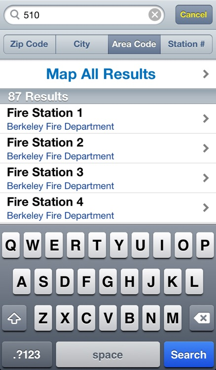 Fire Station App screenshot-3