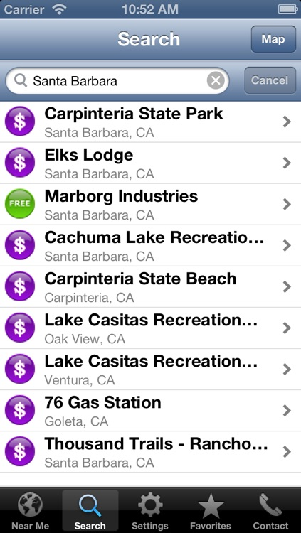 Sanidumps RV Dump Station Locator screenshot-3
