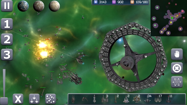 Galactic Conflict RTS