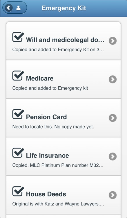 In Case of Emergency (ICE): Preparations for a medical emergency - Home Instead Senior Care screenshot-4