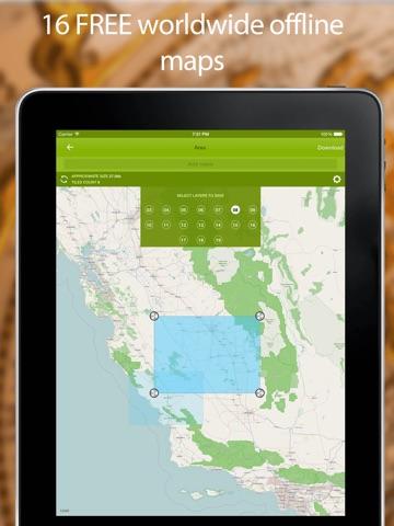 Track Kit - GPS Tracker with offline maps-ipad-1