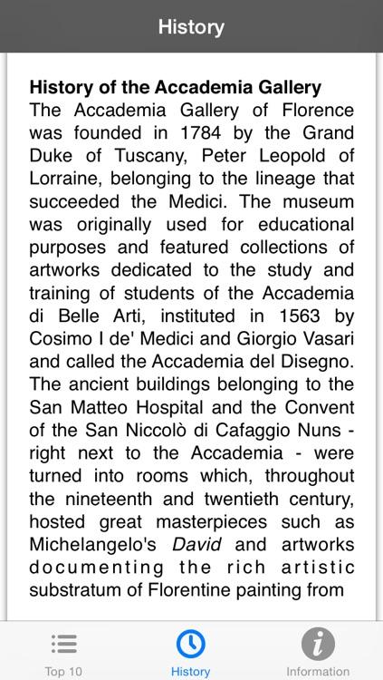 Galleria dell'Accademia di Firenze English LITE screenshot-3