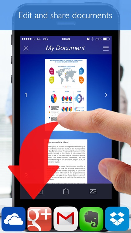 Scanner (Scan documents and images and transform them into PDF with your scanner) screenshot-3