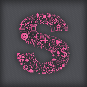 Special Symbols for Facebook, Twitter, Texts & Email: Glam Edition app