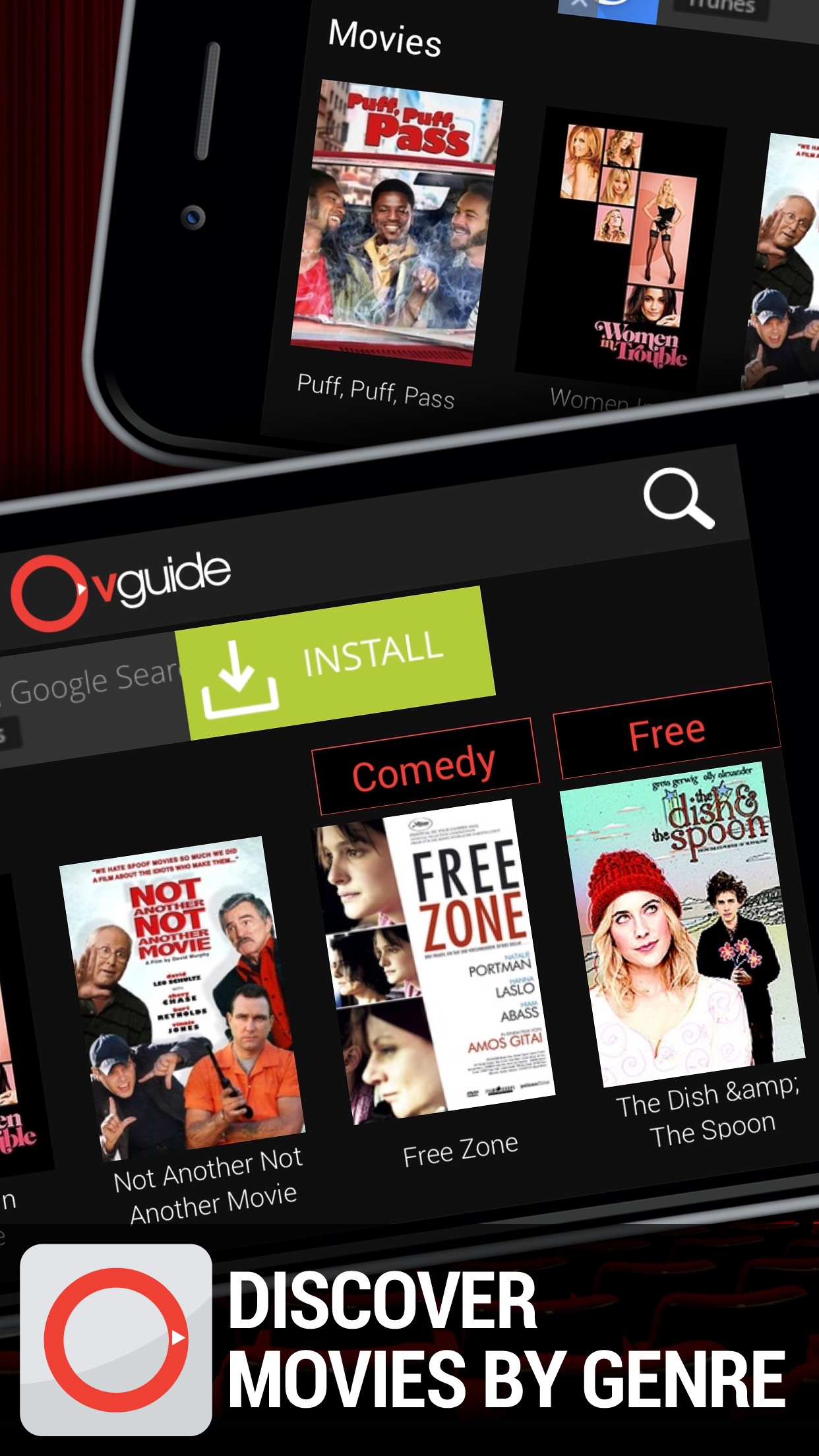 Watch Free Movies & TV - OVGuide Screenshot