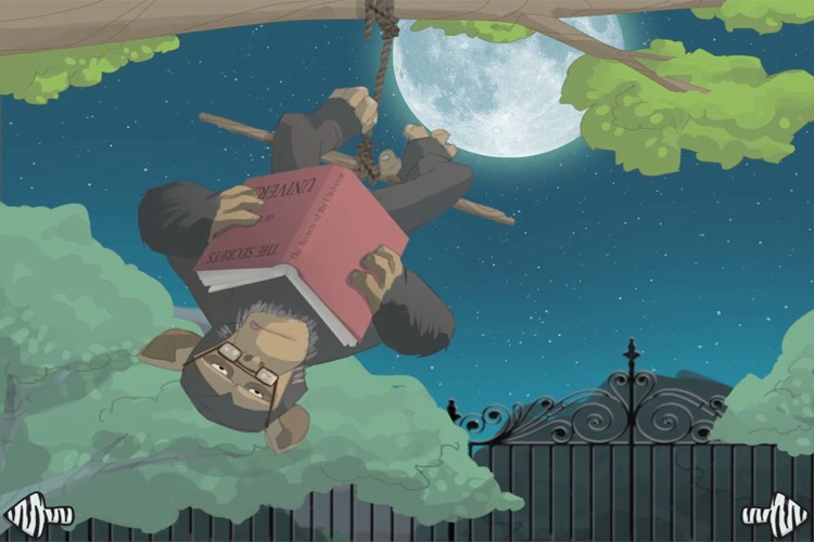 A night at the zoo - interactive book for children screenshot-4