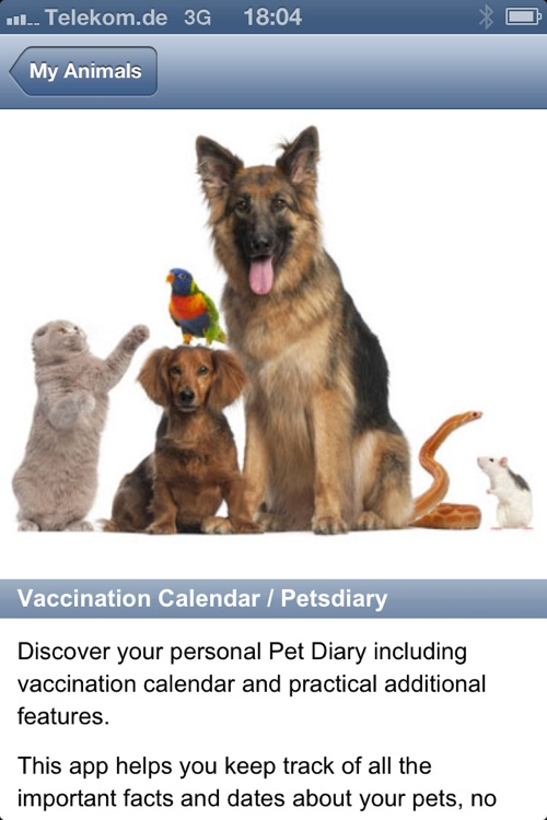 Vaccination Calendar / Petsdiary screenshot-4
