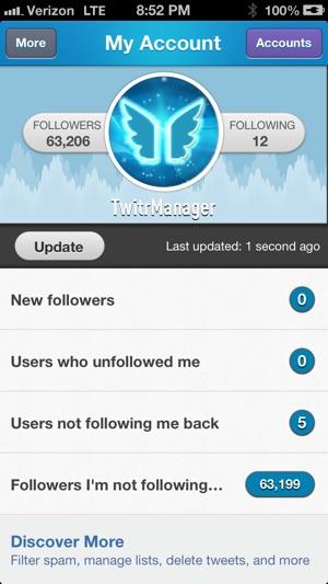 Twitter not updating on ipad
