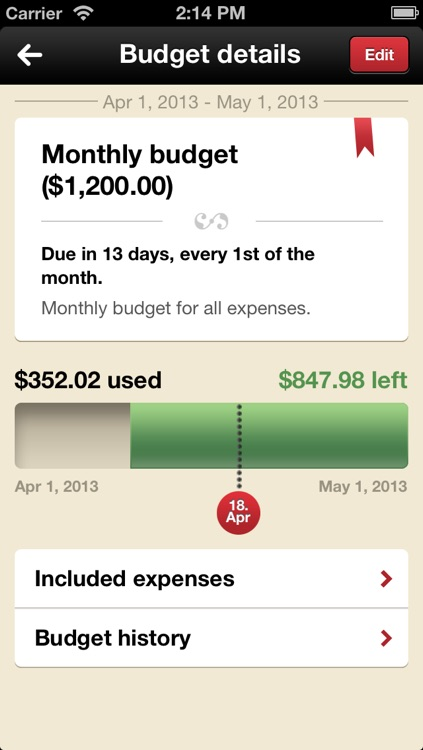 Toshl Finance - save money, budget, track expenses and bills the fun way screenshot-4