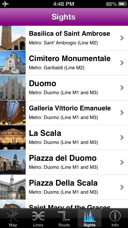 Milan Subway Guide with Offline map