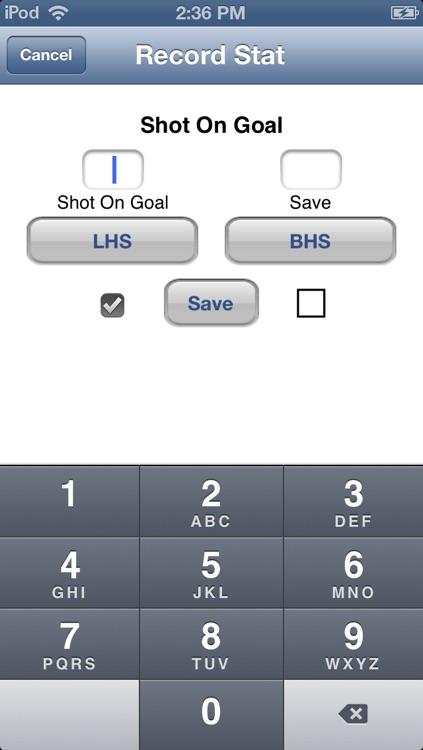 LacrosseStats screenshot-3