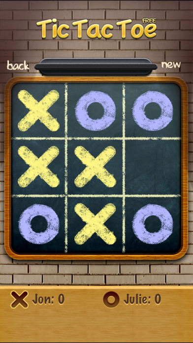 Screenshots of Tic Tac Toe Free for iPhone