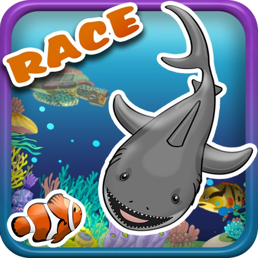 Attack Sharks Ocean Adventure Race - Free Version