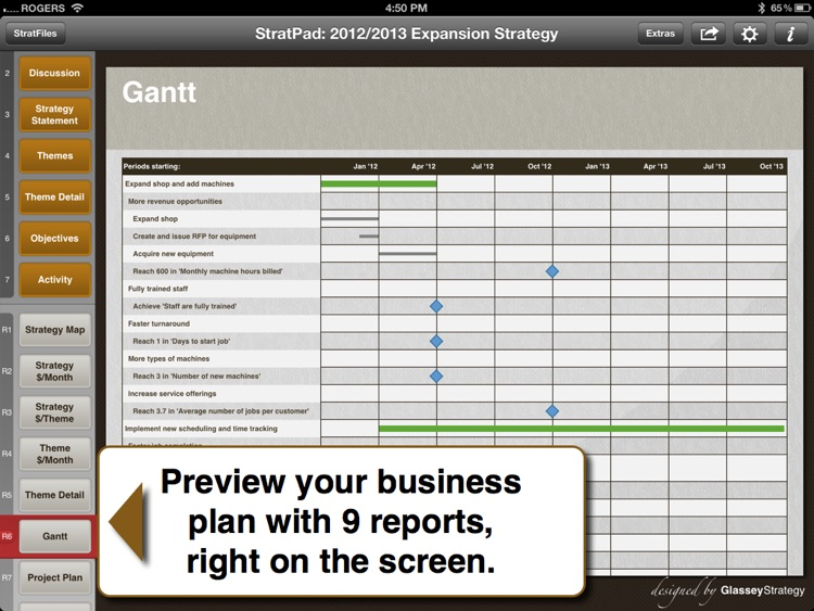 StratPad Business Plan Writer screenshot-3