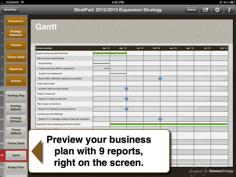 StratPad Business Plan Writer screenshot-3