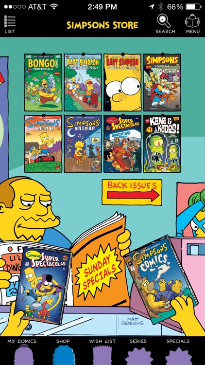 Simpsons Store