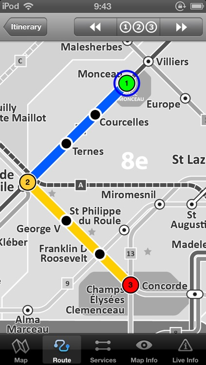 Paris Metro by Zuti screenshot-3