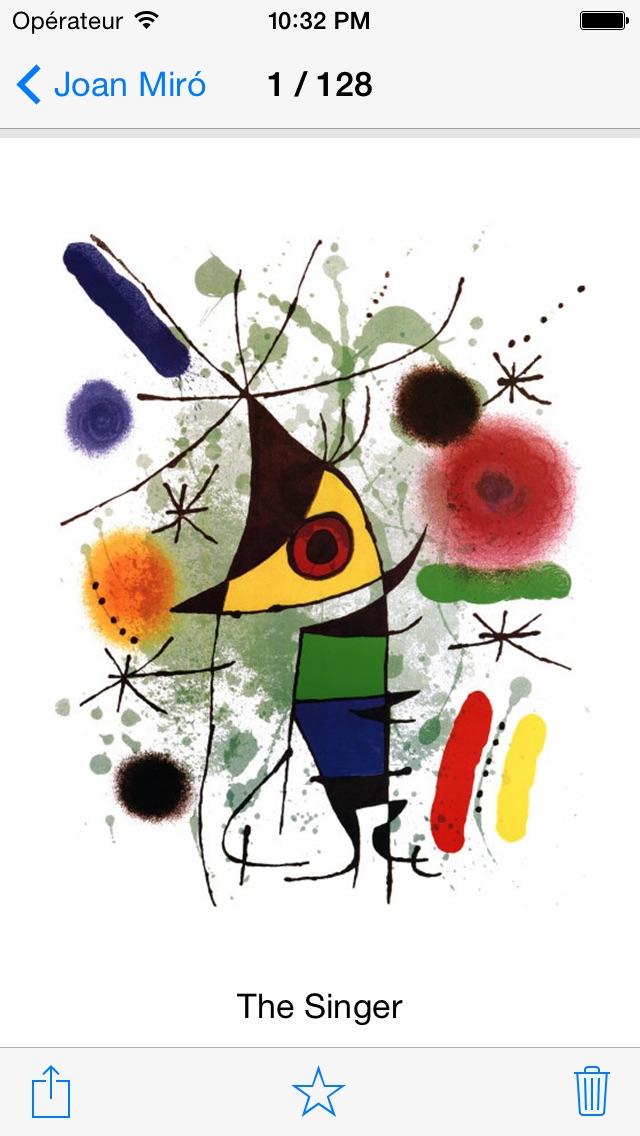 download Miró 128 peintures  (HD  100M+) apps 4
