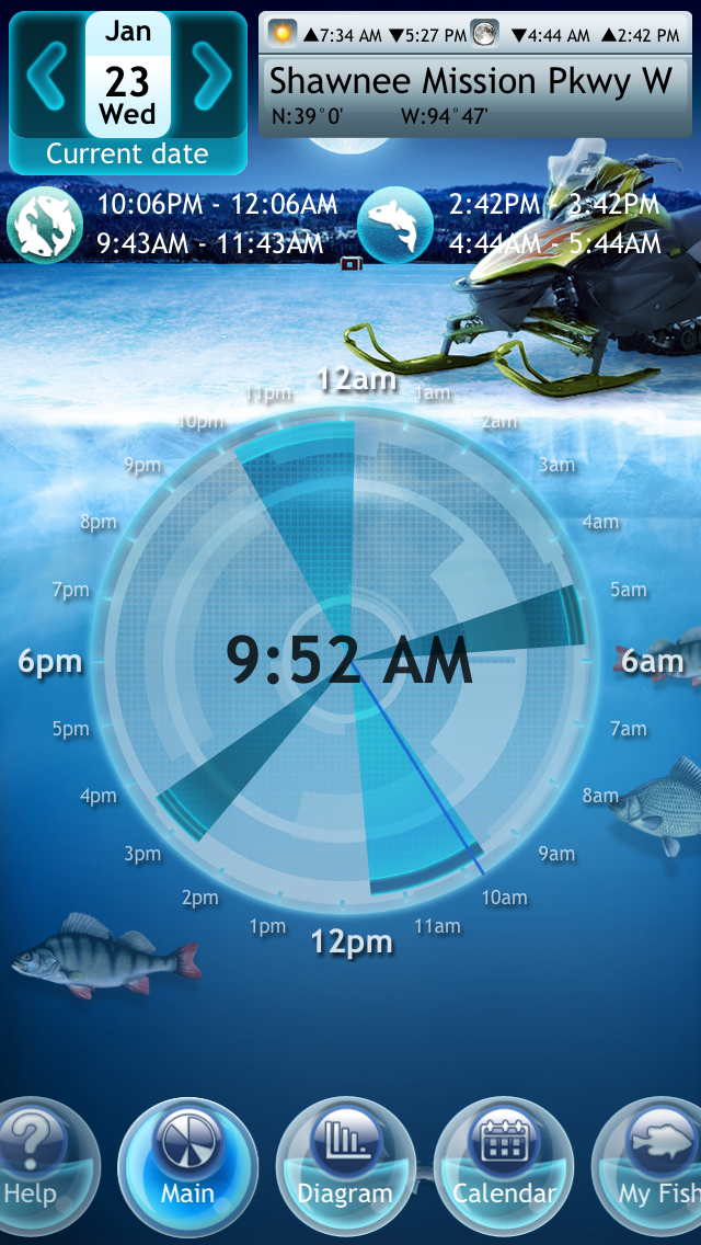 Screenshot #7 for Winter Fishing Deluxe