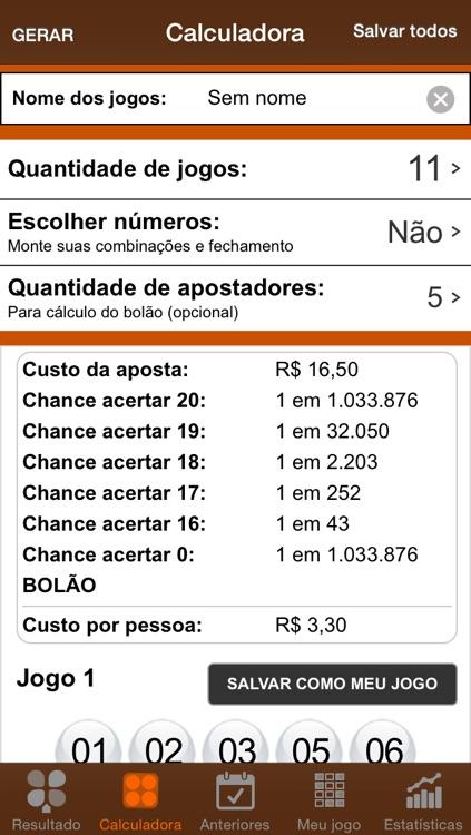 Resultados LotoMania screenshot-3