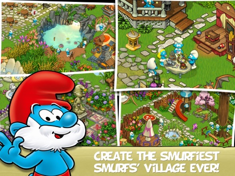 Smurfs' Village and the Magical Meadow на iPad