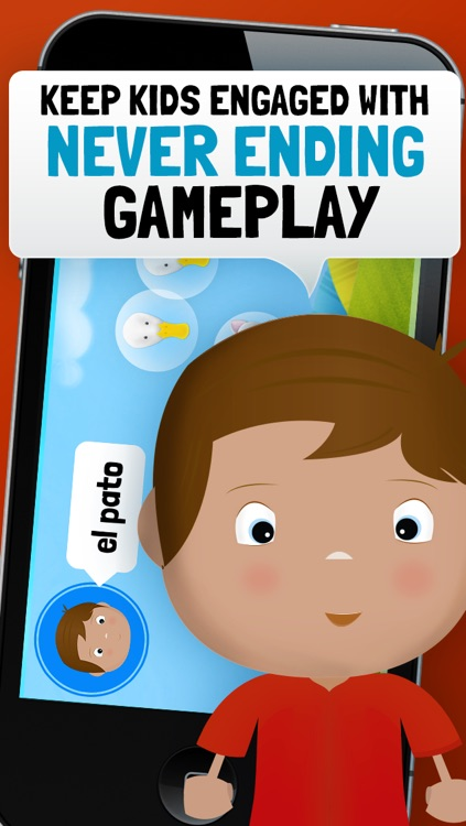 Learn Spanish for Toddlers - Bilingual Child Bubbles Vocabulary Game Lite