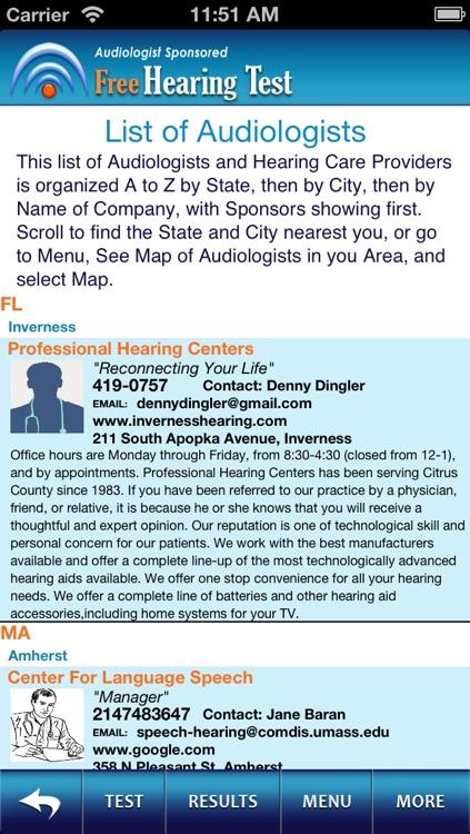 Hearing Test Pro Free screenshot-3