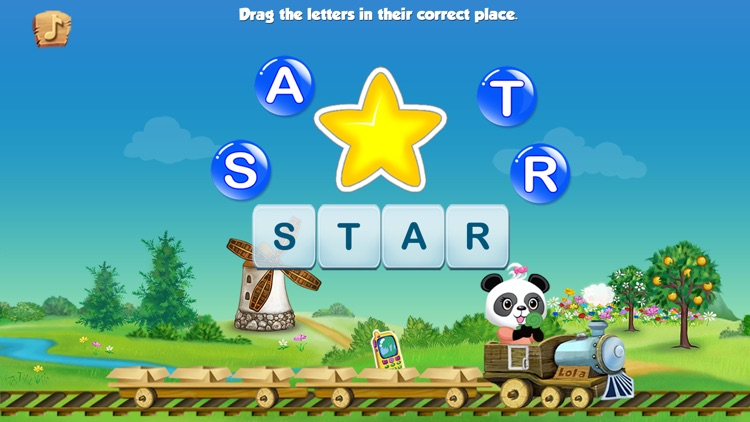 Lola's Alphabet Train FREE - Learn to Read! screenshot-3