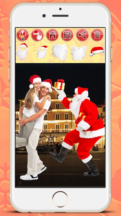 Selfie with Santa Claus screenshot-4