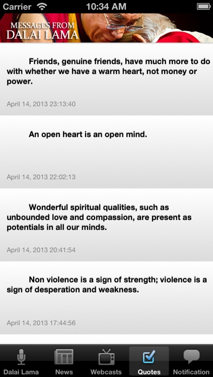 Messages from the Dalai Lama screenshot-4