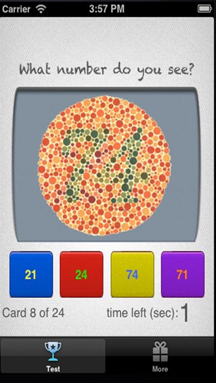 Colorblind Eye Exam