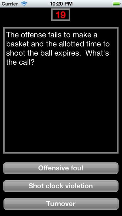 Make the Call - Basketball